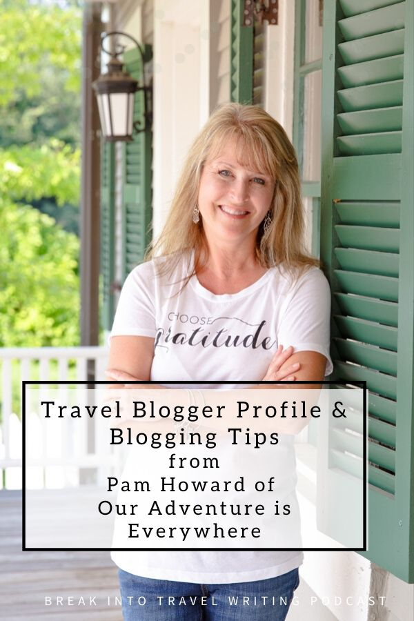 travel blogger Pam Howard