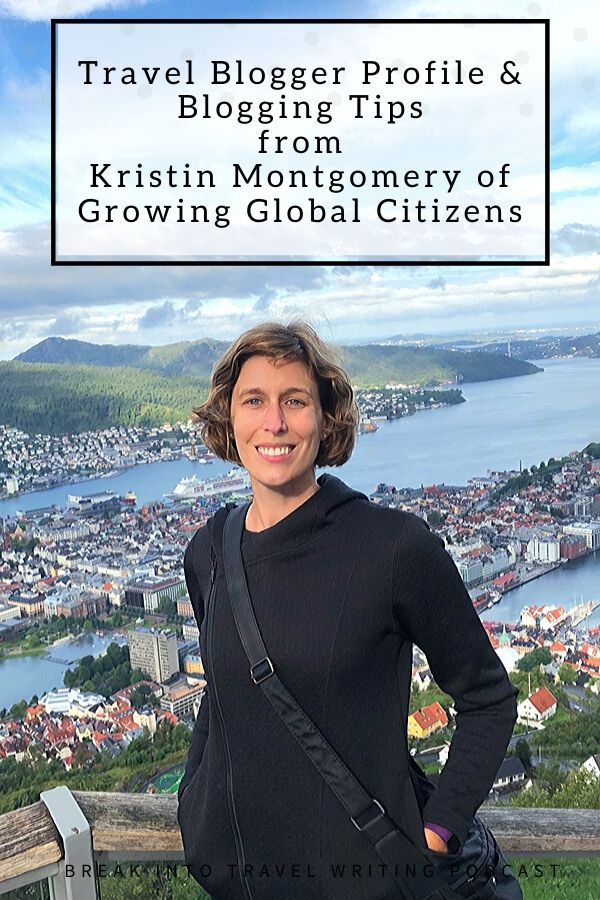 Kristin Montgomery of Growing Global Citizens