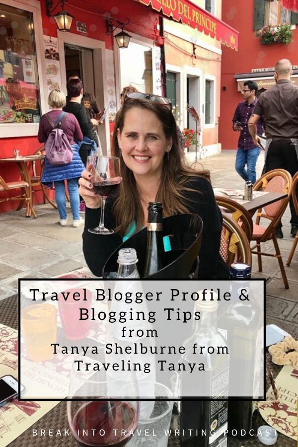 travel blogger Tanya Shelburne