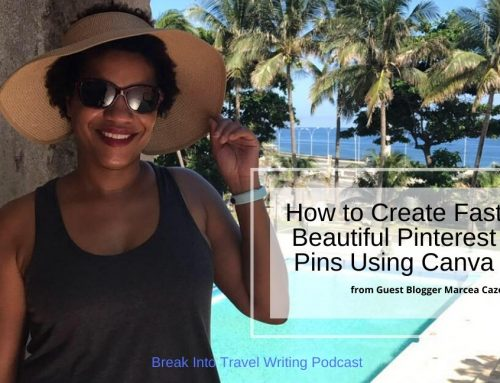 How to Create Fast Beautiful Pinterest Pins Using Canva