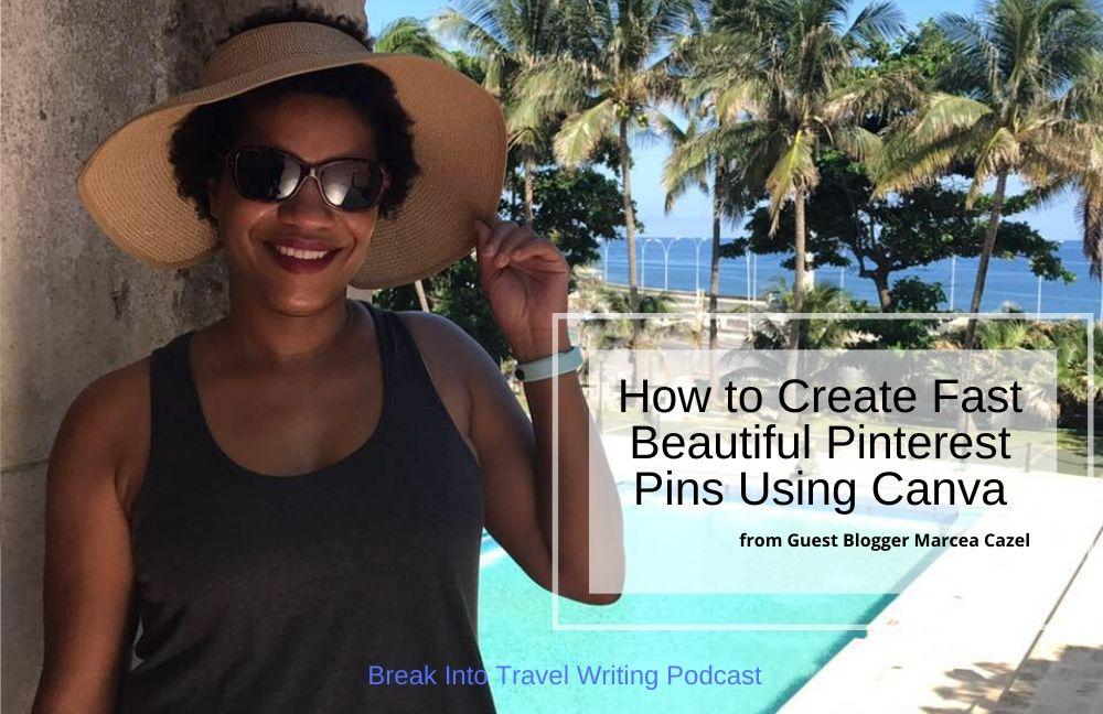 Create Fast Beautiful Pinterest Pins Using Canva