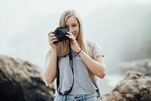 Travel blogger Nicole Rosania