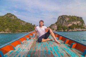 Travel blogger Mike Clegg