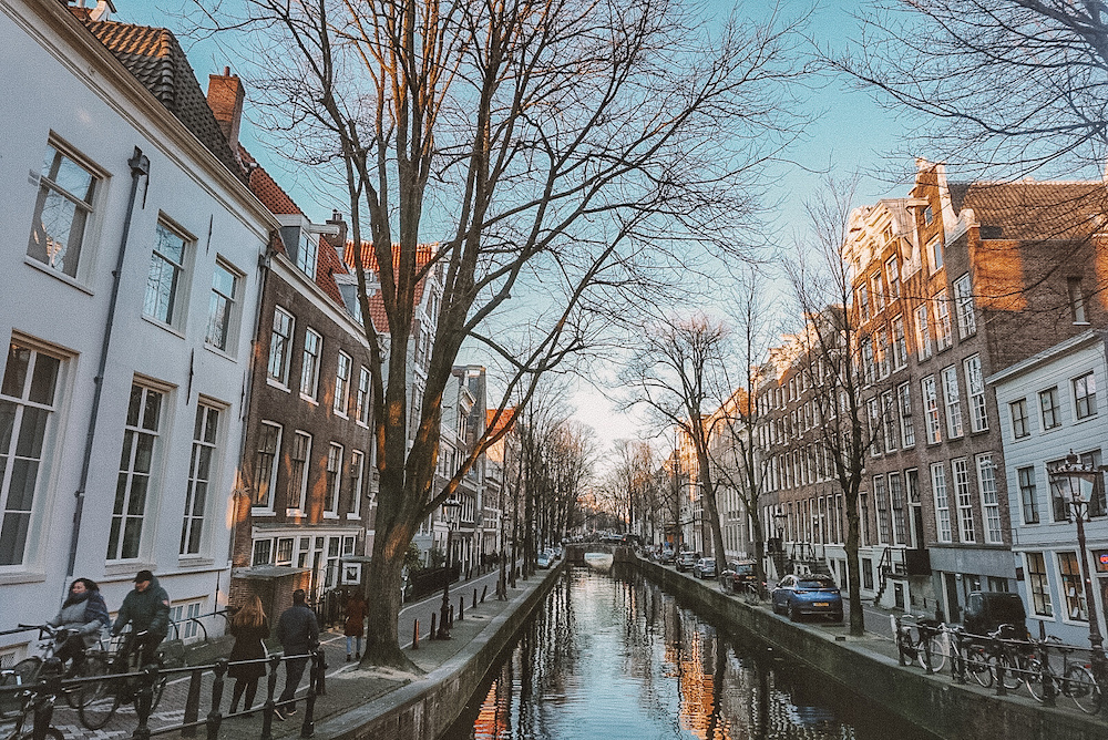 Sony A6000 Photo Example: A canal in Amsterdam,