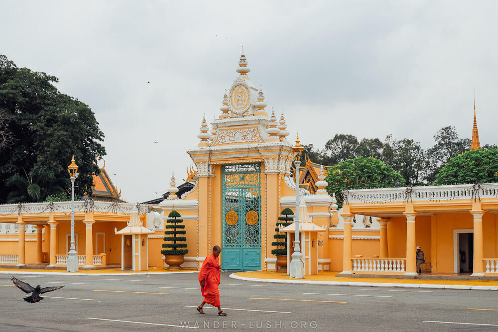 The Royal Palace in Phnom Penh Taken with the 25mm prime lens