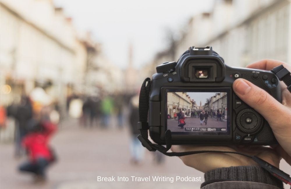 travel photography of street