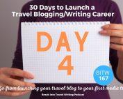 Travel Blogging E-book Day 4