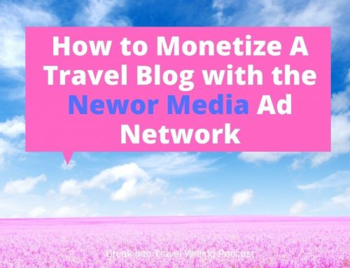 How to Monetize A Travel Blog with Newor Media Ad Network –  Episode 171