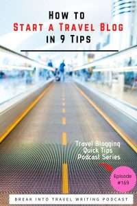 9 tips from established and successful travel bloggers. These are some of the top things to know before you start your travel blog. These are also 9 tips that are useful if you already launched your travel blogging website. It's never too late to implement good techniques and tactics.