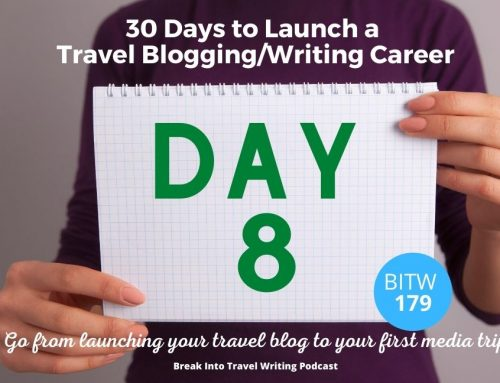 How to Organize Passwords – Day 8 Launch a Travel Blogging Career – Episode 179