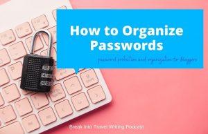 How to Organize Passwords (1)