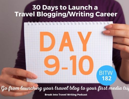 Claim Domain Name & Social Media Handles – Day 9 & 10 Launch a Travel Blogging Career – Episode 182
