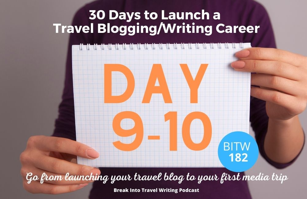 Claim Domain Name & Social Media Handles – Day 9 & 10 Launch a Travel Blogging Career